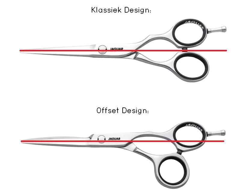 kappersscharen klassiek vs offset design